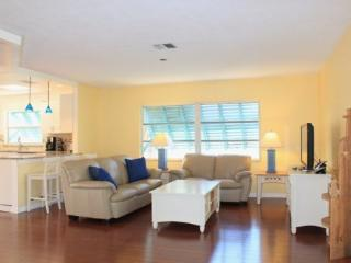 Sun Castle, our large Key West Style Family Vacation home with Private Pool and Hot Tub, All new decor, wood floors and Granite  - Fort Myers Beach vacation rentals