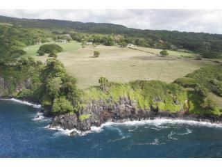 Koali Ranch Cottage from the ocean - Koali Ranch Cottage, Hana, Maui - Hana - rentals