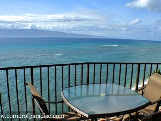 Valley Isle Resort #1010 - Oceanfront Corner Unit - Kahana vacation rentals