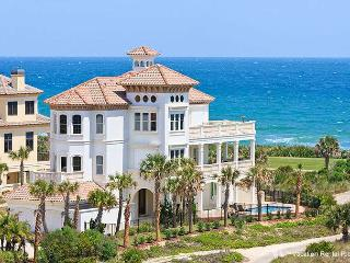 Hammock Beach Mansion OceanFront 7 Bedrooms, Elevator, Pool - Florida Central Atlantic Coast vacation rentals