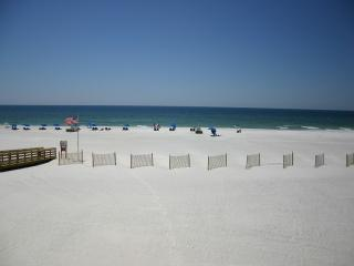 View from balcony - Royal Palms 207:  Affordable Beachfront Luxury! - Gulf Shores - rentals