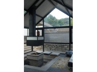 The living room - The Pavilion at Mutianyu Great Wall - Beijing - rentals