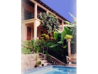 view up from the pool - Casa Tropical Costa Rica's favorite family retreat - Manuel Antonio - rentals