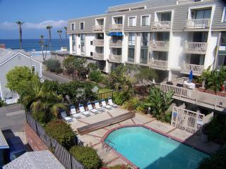 pool below a building - RATE LOWERED--GREAT OCEAN VIEWS FROM EVERY ROOM - Oceanside - rentals