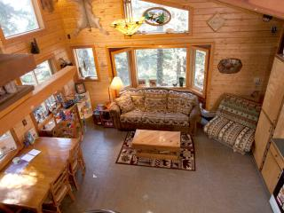 Treefort House Great Room - Beach House Rentals, Seward/Claire Horton, Owner