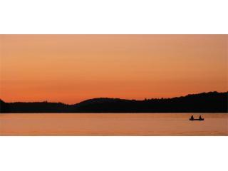 Experience spectacular sunsets at Breezy (taken from Three Bears\' deck) - BREEZY on Lake of Bays (wheelchair accessible) - Lake of Bays - rentals