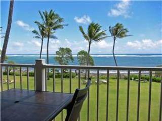 Kapaa Shore Resort #202-Beauty OCEANFRONT! - Kapaa vacation rentals