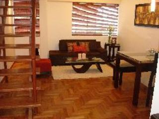 Living room - Miraflores 2 bedroom duplex next to JW Marriott - Miraflores - rentals
