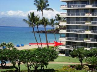 Kaanapali Beach Vacation Condo - Oceanfront - Right on Kaanapali Beach - Whaler # 201 **Oceanfront**-Panoramic Views!! - Kaanapali - rentals