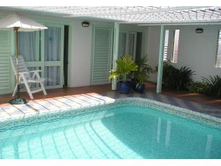 Interior mosaic tiled swimming pool & bedrooms - A Grenada Villa - Grenada - Jewel In the Caribbean - Lance Aux Epines - rentals