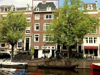 Big and Beautiful 4 bedrm apt on Keizersgracht - North Holland vacation rentals