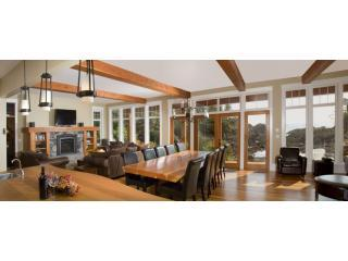 Black Rock Beach House - living room - Luxury at the edge of the earth. - Ucluelet - rentals