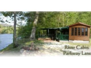 River Cabin with large party deck - River Cabin on the banks of the French Broad River - Asheville - rentals