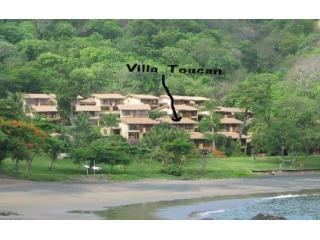 Villa From Beach - Playa Ocotal  3BR Beach Villa at Bahia Pez Vela - Playa Ocotal - rentals