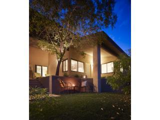Ext. Desert View Villa at Night - Mineral Spring Luxury at the Desert View Villa - Desert Hot Springs - rentals
