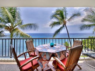 Large Oceanfront 1 bedroom, 2 bath condo - Kailua-Kona vacation rentals
