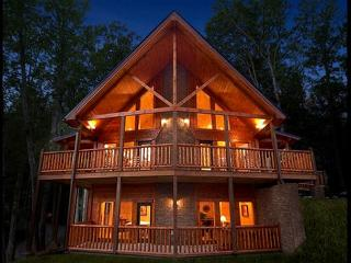 Luxury 4 Bedroom Gatlinburg Cabin with Private Home Theater Room - Gatlinburg vacation rentals