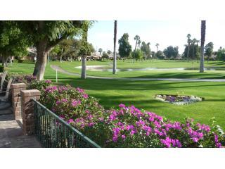 patio view - FABULOUS VIEWS/Ideal location on the golf course - Palm Desert - rentals