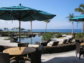 Pool from restaurant - Hali'i Kai 3E Hawaii's #1 Vacation Destination - Waikoloa - rentals