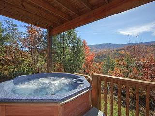 Secluded 2 Bedroom Cabin with Fabulous Views of the Great Smoky Mountains - Gatlinburg vacation rentals