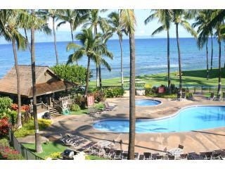 View from K404 Lanai and Master Bedroom - 3BD Oceanview Condo - Papakea K404 - Kaanapali - rentals