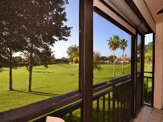 La Puerta 9-252  Updated condo with screened balcony, golf course view & WiFi - Saint Petersburg vacation rentals