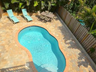 Villa Grenada NEW LUXURY 4BR/4BA POOL HOME 2 BLK TO BCH STUNNING - Lauderdale by the Sea vacation rentals