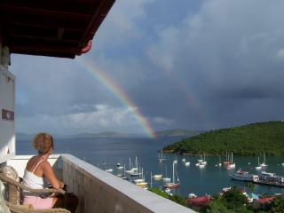 Front Balcony - Hillcrest Guest House, St. John, US Virgin Islands - Cruz Bay - rentals