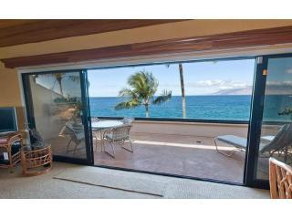 View Through Lanai - Makena Surf Resort - 5 star 2 BR Oceanfront Condo - Wailea-Makena - rentals