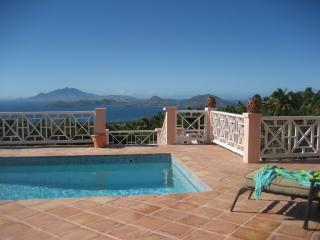 Unobstructed Views  from the Sunset Terrace - Island Time; Privacy, Stunning Views, Pool, Luxury - Jessups Village - rentals