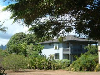 View from Beach of Hale Pua - Rear House on Property - Breakers Suite - Best Location & Best Rates in Poipu Beach Kauai - Poipu - rentals