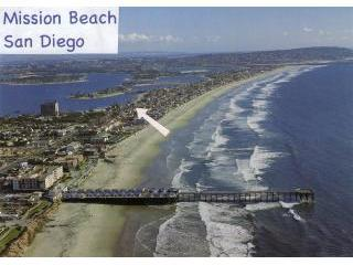 Our Location in Mission Beach - Mission Bay Hideaway - Mission Beach - rentals