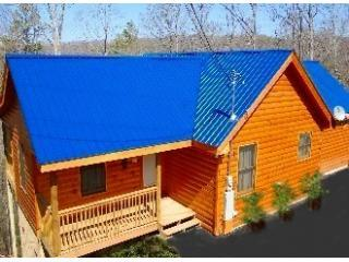 L42FRNT2.JPG - Love 4 Two Log Cabin - Gatlinburg - rentals