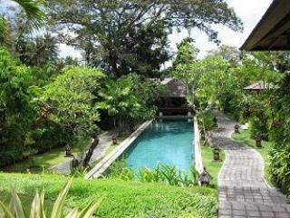 POOL AND SURROUNDING GARDENS - STUNNING 1/2/3 BEDROOM VILLA AT BAHAGIA PARK . - Kerobokan - rentals