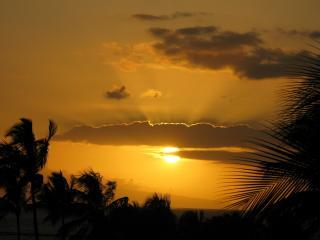 Sunset Lanai View from your Maui Vista Resort Condo - Now to Nov $135 Spcl Top Rated Kihei Ocean Vu 2br - Kihei - rentals