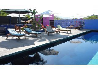 Swimming pool shared with the Hotelito - Modern Hacienda. Private garden. Saltwater Pool. - Todos Santos - rentals