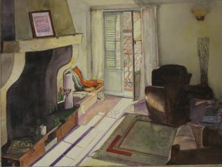 One of our rentors captured the feel of the place in this watercolour ... - Charming apartment in the heart of Old Antibes - Antibes - rentals