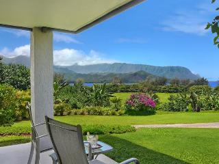 Ocean and Bali Hai View Condo w/ Full Kitchen, AC - Princeville vacation rentals