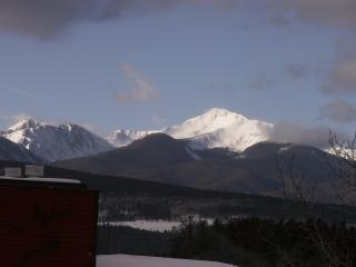 View from deck - Watch the sun set over the Rockies! - Great Views & Rates - Winter Park Area - Colorado - Fraser - rentals
