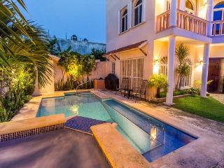 Casa Cascada - Beautiful Downtown House, Pool, Yard - Cozumel vacation rentals