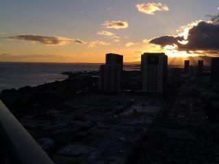 Wow- Sunset Ocean Vws from this PENTHOUSE studio - Waikiki vacation rentals