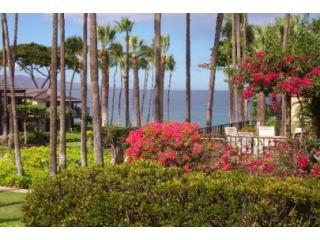 Your ocean view from our lanai - Elua Village # 701 - Luxury 2b/2b with Ocean View! - Wailea - rentals