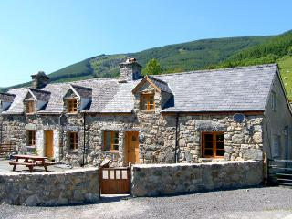 YSGUBOR, pet friendly, luxury holiday cottage, with hot tub in Dinas Mawddwy, Ref 2593 - Gwynedd- Snowdonia vacation rentals