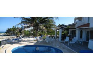 Panoramic ocean view of Casa Balam Ek - Villa Balam Ek ocean front home in Caribbean Sea - Akumal - rentals