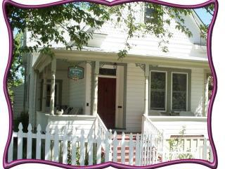 Welcome to our home with a wonderful wrap around porch - A Victorian Rose, luxury downtown rental - Grass Valley - rentals