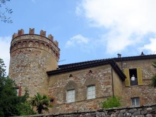 View of Castle Apartment with Tower - Tuscan Tower - A unique castle apartment - Montepulciano - rentals