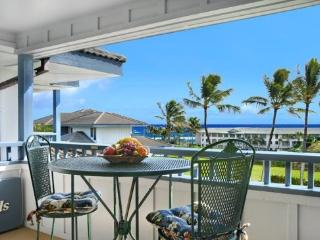 Free Car* with Poipu Sands 225 - Only 100 yards from Shipwreck Beach! 2 bed / 2 bath and heated pool! - Poipu vacation rentals