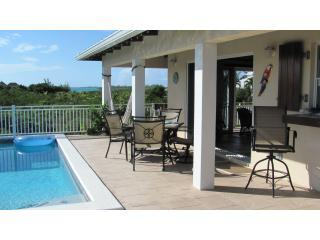 Deck facing Taylor Bay - Casa de Isle right off Taylor Bay - Providenciales - rentals