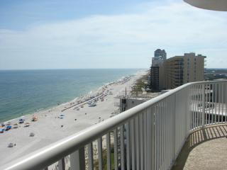 West View from the Balcony - Tradewinds 1205 - Beachfront Getaway!! - Orange Beach - rentals