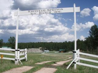 Whitetail Springs, Log home on 17 acres - South Dakota vacation rentals